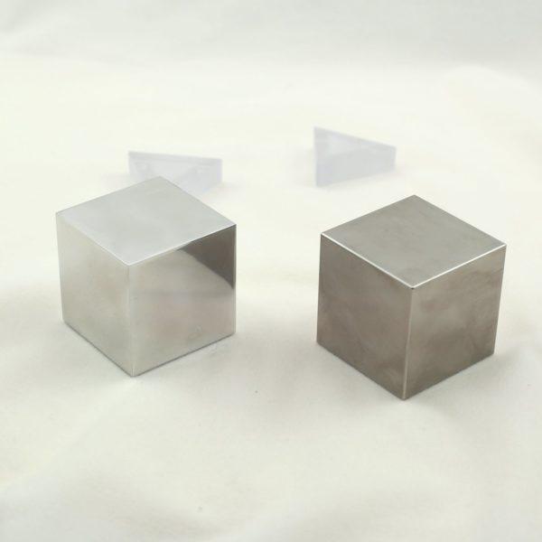 Cubi in Tungsteno e Alluminio